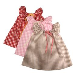VK902 Gingham Play Dress