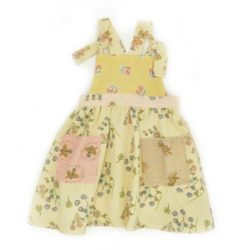 VK025 Pinafore Multi Front