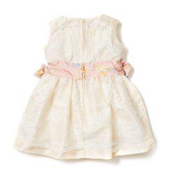 VK114 Silk Party Dress Back