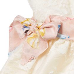 VK114 Silk Party Dress Bow