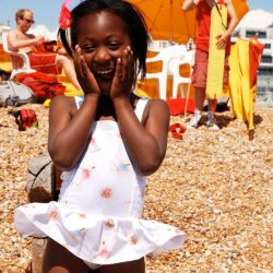 VK209 Playsuit Ballerina White