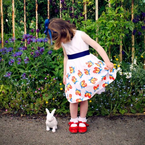 Vintage Kit White Party Dress Shoes