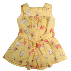 Dumbo playsuit Front with bow tie