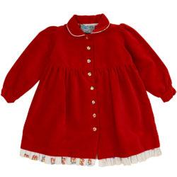 gorgeous velvet classic Christmas dres
