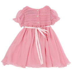 Our sweet little silk party dress