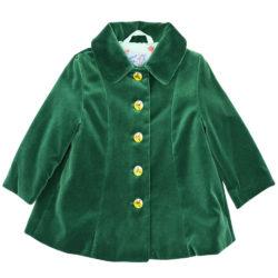 Vintage Kit velvet coat