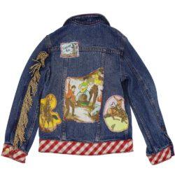 Vintage Kit Denim Jacket Back