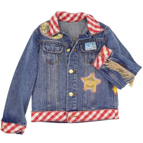 Vintage Kit Denim Jacket Front