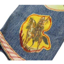 Wild West Vintage Dunagrees Cowboy