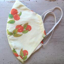 Adult size cherry print mask