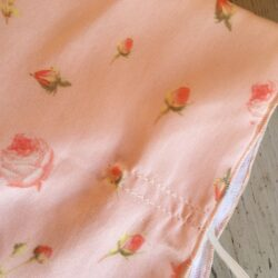 Adult silk bandana style face covering