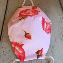 Adult Pink Rose mask