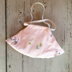 Age 6-10 yr pink Hare mask