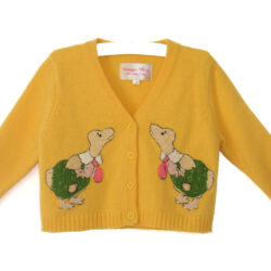 Ducky Cardi in yellow